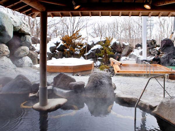 奥軽井沢温泉★冬シーズン限定、雪見露天が楽しめます♪