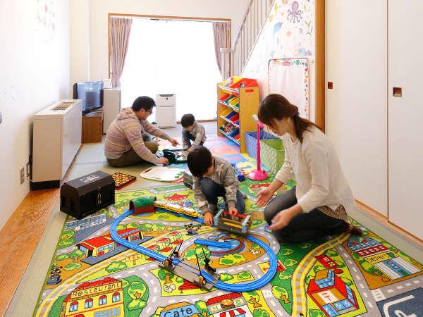 ファミリーに人気の【遊べるルーム】!赤ちゃんには【赤ちゃんプラン専用ルーム】がオススメです♪