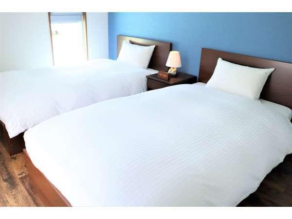 ツイン寝室