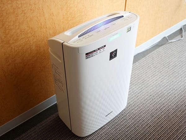 全室に加湿空気清浄機を設置。より快適にお過ごしいただけます。