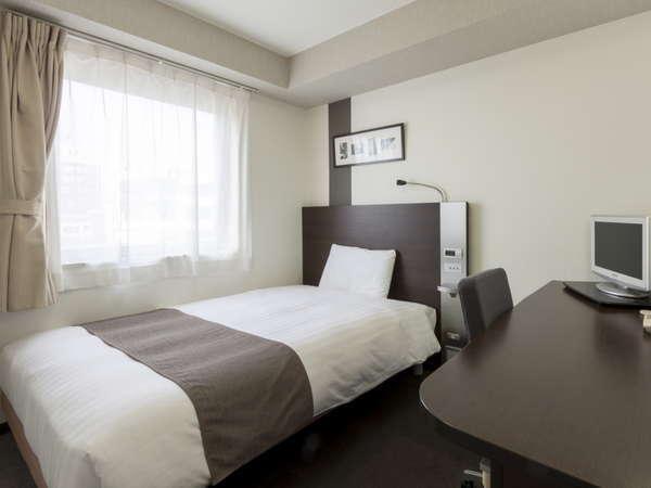 1ベッド◆ダブルエコノミー◆13平米◆ベッド幅140cm