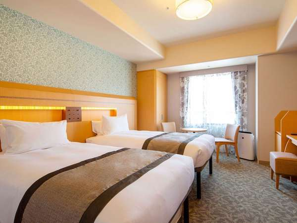 【客室】ツインルーム(ベッド幅:110センチ×203センチ)