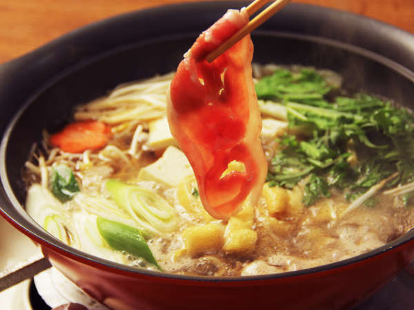 旨みが凝縮された鴨鍋は極上の味わい…( *´艸`)