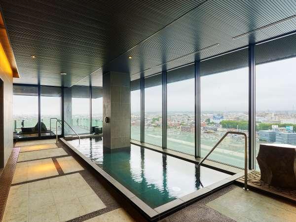広々とした内風呂からも富士山ご覧いただけます