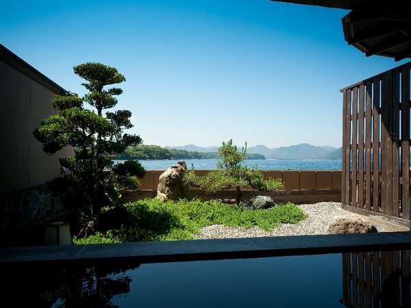 露天風呂からの眺めは最高!海・日本海は目の前・波音・潮風に癒されて・・・