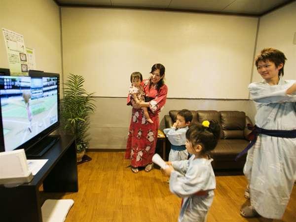 ◆ゲームルームで仲間や家族でワイワイ!