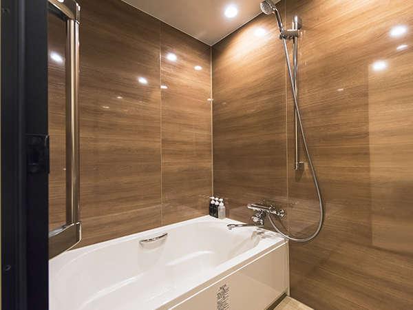 ≪エグゼクティブツイン浴室≫ウィング棟(新館)は全室バストイレセパレート!