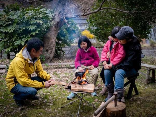 【あわくら温泉元湯】森と暮らし、森を味わう薪のやど