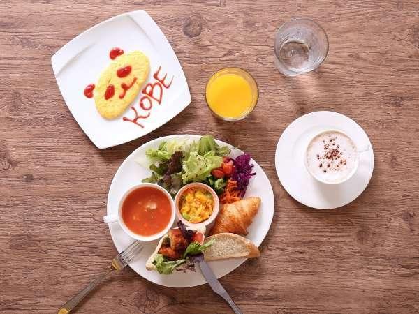 カフェスタイルブレックファースト ヘルシーでカラフルな朝食で一日をスタート!