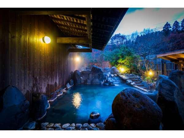 【おた里の湯 彩の庄】大人の隠れ宿の小田温泉。全室離れ形式、全室露天風呂付!