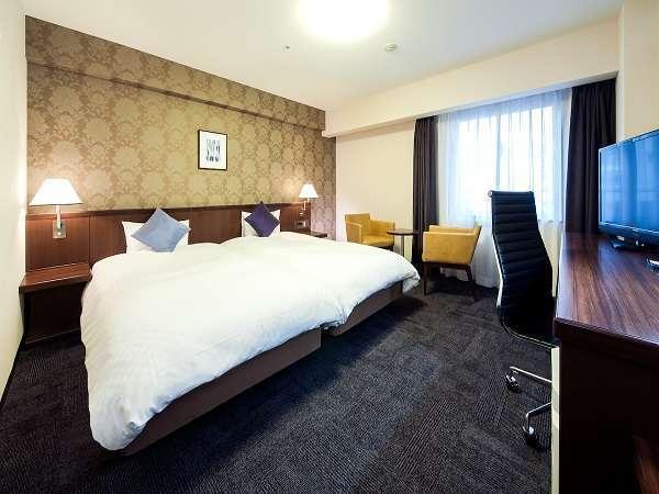 ◆ツインルーム  27平米ベッド幅110cm×2