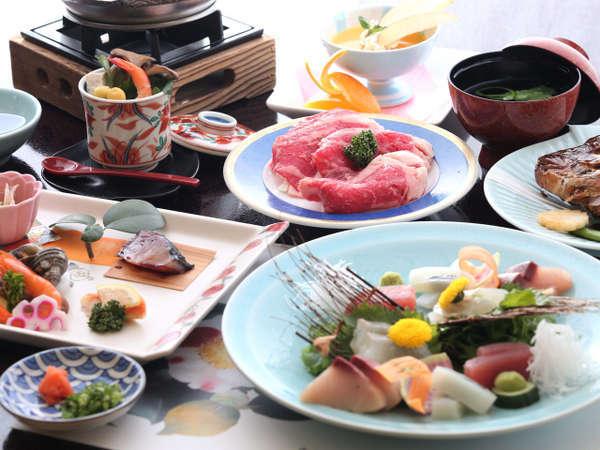3湯巡りプラン料理イメージ♪★2019年1月現在夕食口コミ4.6★
