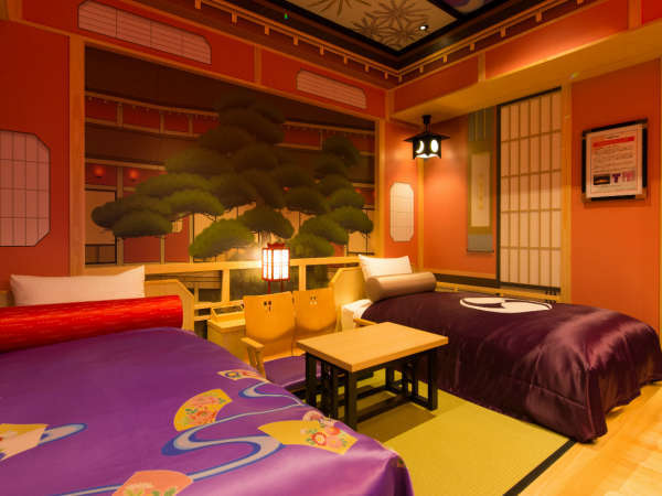南館歌舞伎ツインルーム/松の間(C)SHOCHIKU