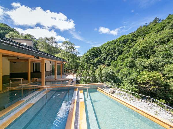 2016年9月「渓流露天風呂」誕生!上質で贅沢な空間をぜひ体感してください