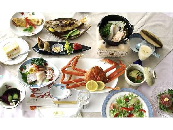 【池の平 ホテルセゾン】リピーター続出!!日本海の新鮮な高級魚が、この料金でいただける♪