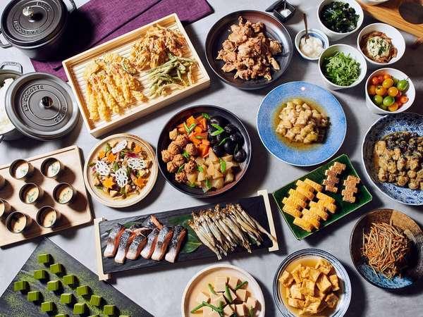 【朝食】ビュッフェ ※イメージ