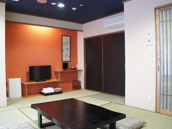 神戸の街中にいながら温泉旅館気分を楽しめる和室のお部屋♪和室はアウトバス・アウトトイレになります。