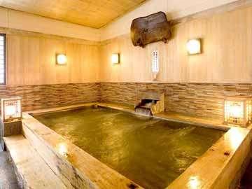 【湯迫温泉 白雲閣】男女入れ替え制お風呂でのんびり湯巡り♪歴史ある温泉と料理を堪能