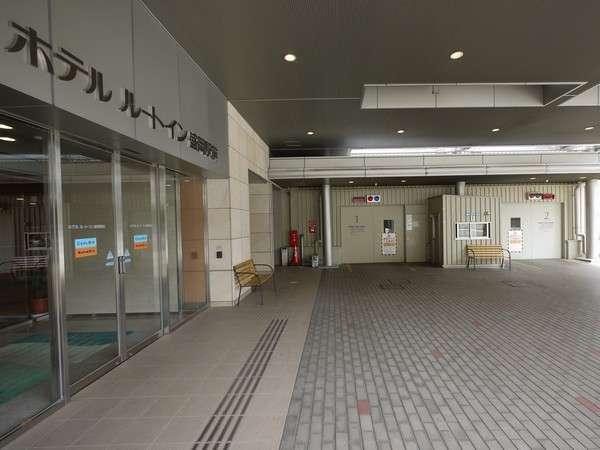 併設のタワー駐車場です。■600円/1泊 ■制限⇒高さ:~2m、長さ:~5.3m、車幅:~1.95m、重量:~2.3t