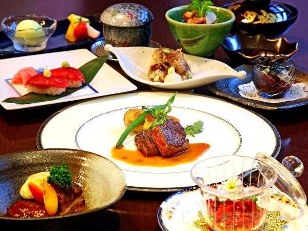日本3大和牛の一つ近江牛を堪能♪近江牛づくし会席のご夕食