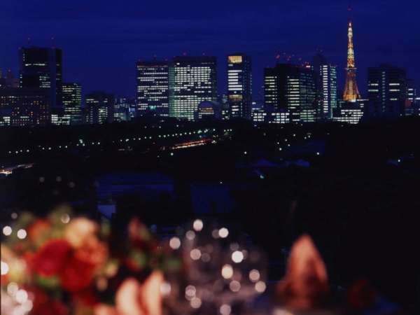 12Fメインダイニング『芙蓉』の夜景