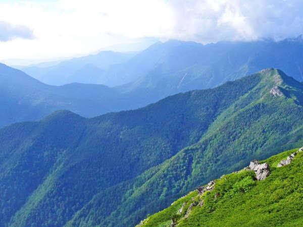 *北岳:夜叉神峠や北岳へは芦安からのアクセスが◎朝食をお弁当に変更可な登山プラン有