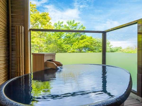 特別和洋室カトレア 源泉掛け流し露天風呂