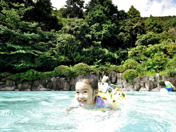 【プール】お子様も安心してご利用いただけます。