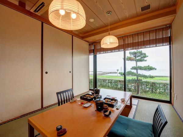 *【レストラン浜風】掘りごたつの個室や、団体様向けの広めの個室もご用意。