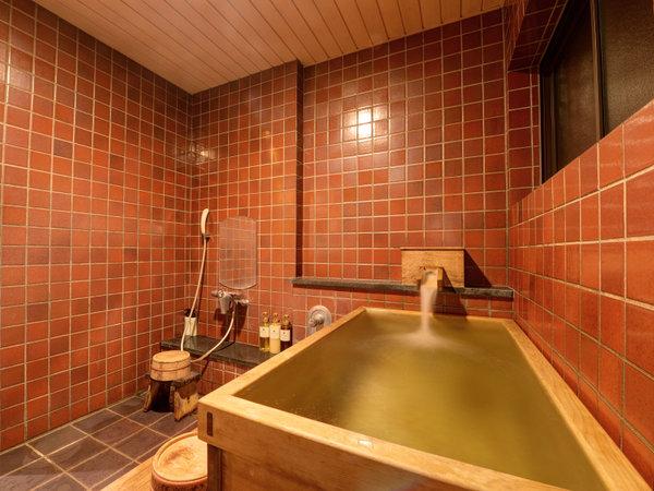 *【離れ】天然ラジウム温泉の露天風呂付。内風呂もございます。
