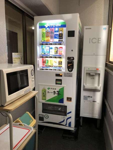 電子レンジ ソフトドリンク 製氷機