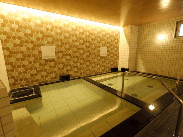 嬉しいオールナイト入浴可能!美肌に効能^^源泉かけ流しの天然温泉【女湯】