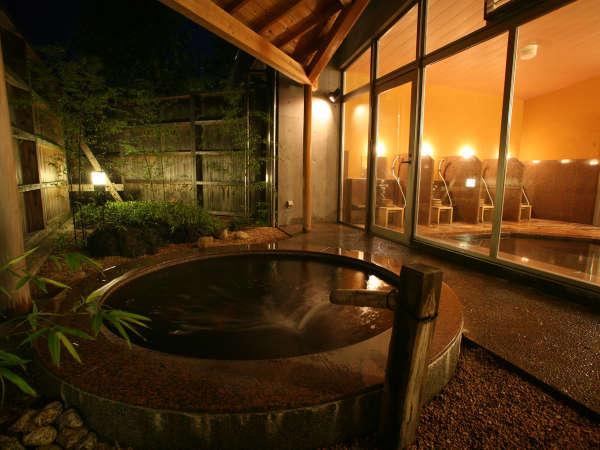 【男性風呂】旅の疲れを優しく癒すはぎ温泉。