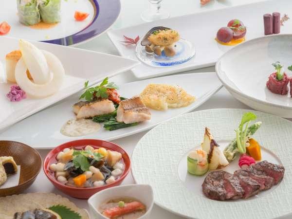 【郷土料理と創作フレンチで、会津の旬を味合う】