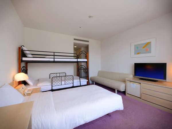 【4ベッドルーム】二段ベッドのあるファミリー向けのお部屋