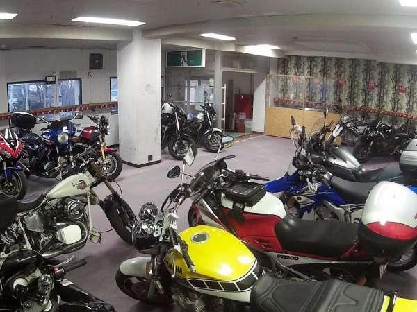 【志賀スイスイン】乾燥室が駐輪場に! バイク&自転車も安心♪ 天然温泉ですよ~