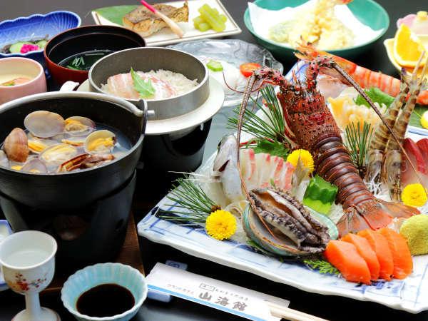 お造り御膳■海の幸満載のコース料理をぜひご賞味あれ!
