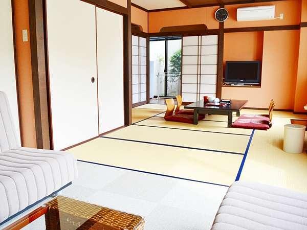 【内風呂付客室 桜の間】① バリアフリー