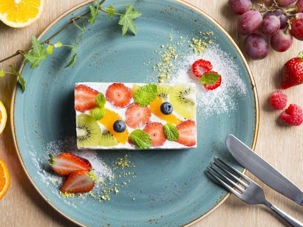 【朝食】フルーツサンド