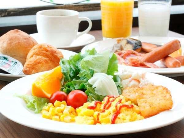 【朝食】朝食バイキング盛り付け例(時間6:30~9:45)