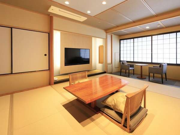 ■貴賓室■和室12.5畳+ツインベッド+半露天風呂