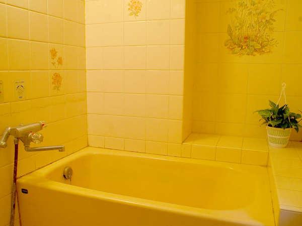 【部屋のお風呂一例】お部屋のお風呂です。好きな時間に入れるのがいいですね♪