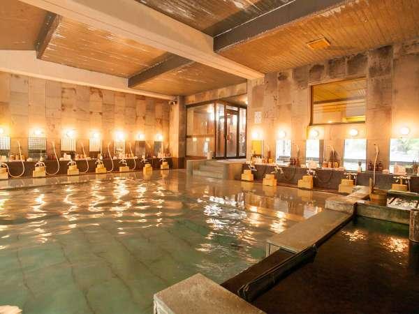 【艶明(えんめい)】女性大浴場。1300年から湧く効能豊かな湯をお楽しみください。
