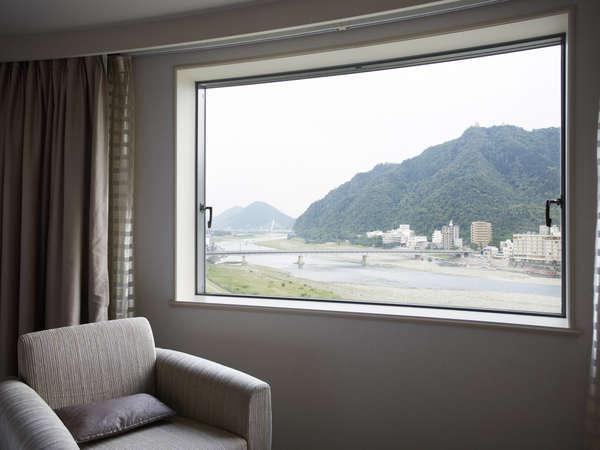 【眺望】リバービューツインからの景観(昼・イメージ)