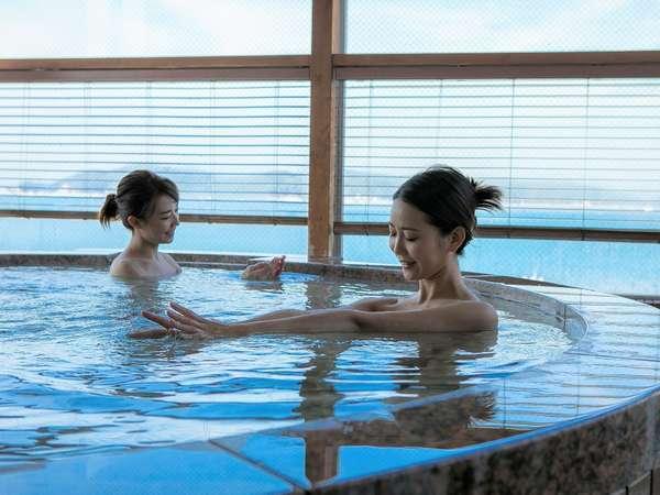 トロミのある美人湯と言われる加太淡嶋温泉の泉質は人気です。
