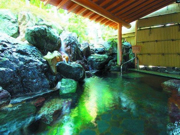 露天風呂「木もれびの湯」