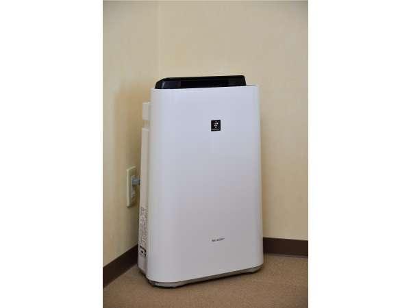 【加湿空気清浄機】SHARP(KC-M401-W)全室に設置しております。