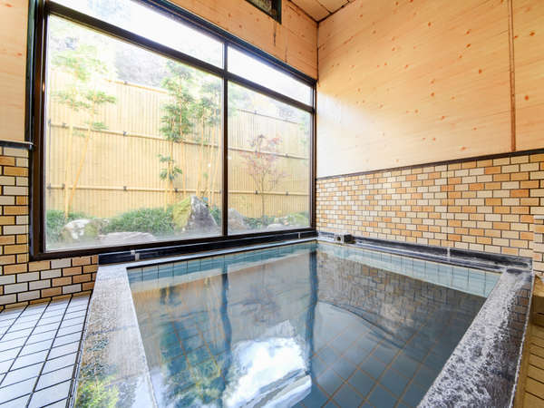 *【内湯温泉(大)】家族風呂で温泉を満喫!ご予約不要。