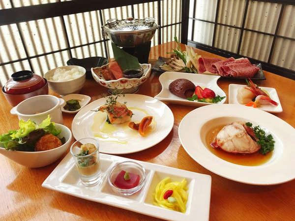 【夕食一例】恵みの森・デラックスプラン