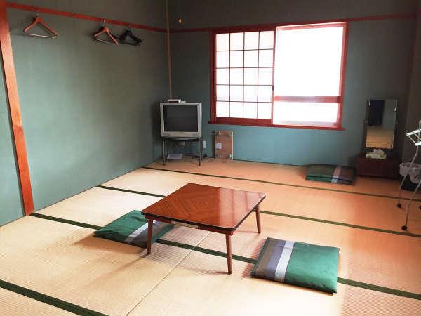 【和室一例】6~12畳のお部屋をご予約人数に合わせてご用意します